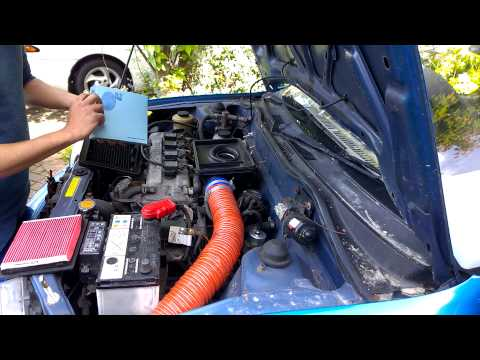 Nissan Micra K11 Air Filter Renewal