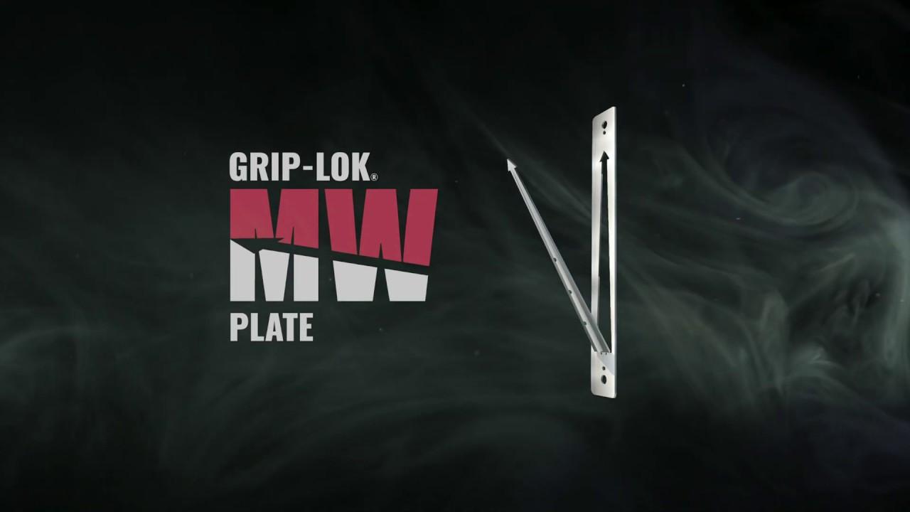 Mineral Wool Attachment: Grip-Lok® MW Plate