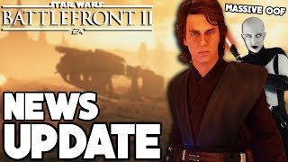 NEWS UPDATE: Ahsoka & Ventress Leaks, Anakin Skywalker Review and More (Star Wars Battlefront 2)