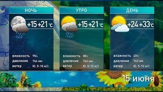 Жара начинает отступать. Прогноз погоды на выходные 15-16 июня
