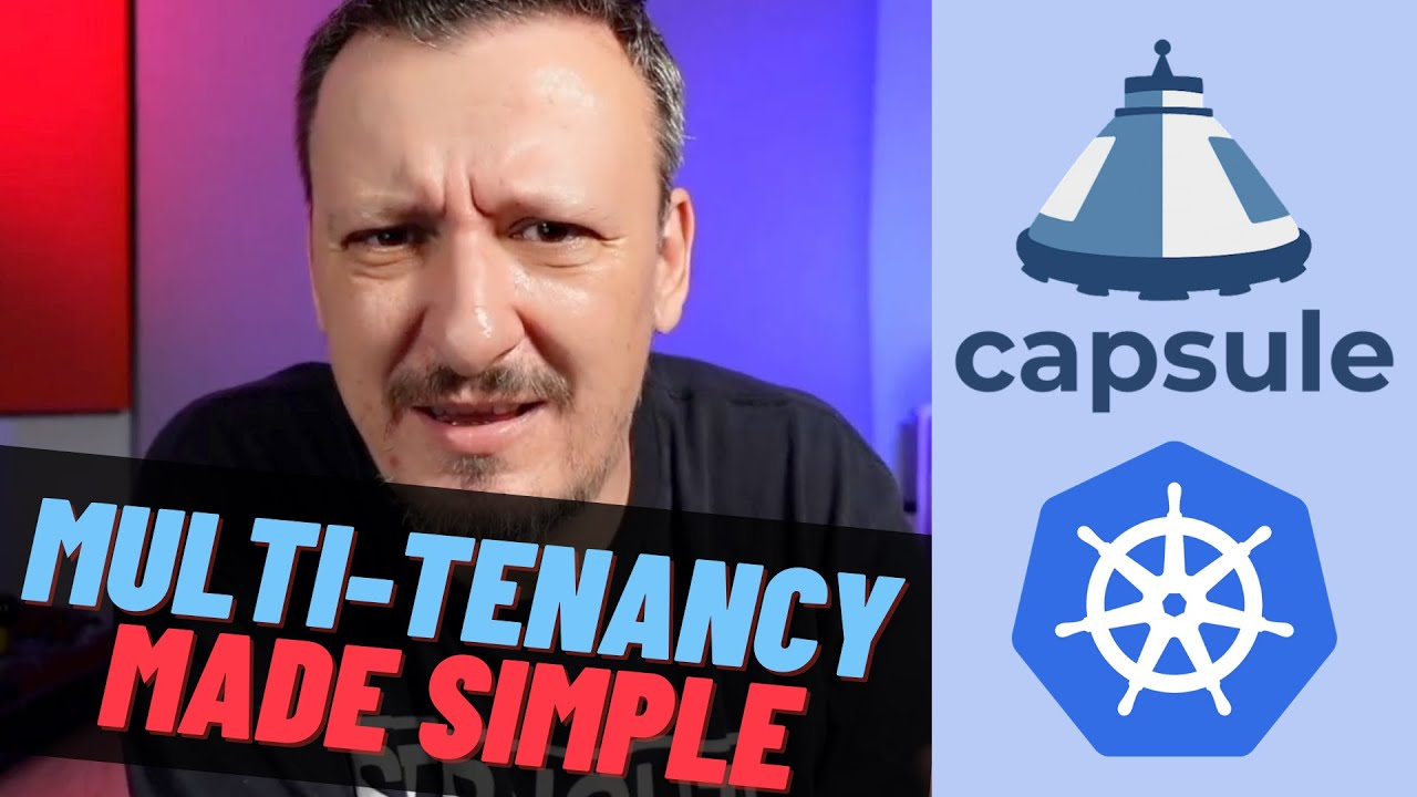 Multi-Tenant Kubernetes Cluster With Capsule