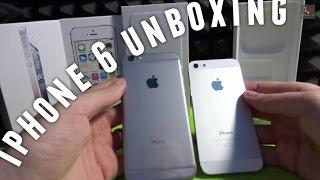 iPhone 6 UNBOXING + kurzer Vergleich - 4,7 Zoll in Space Grey - Deutsch - Ein erster Blick...
