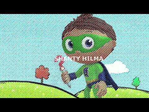 Super WHY! Theme Song ~ Remix Effects Line Striped ✅✅