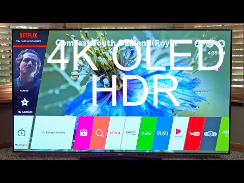 "Best TV of 2016? LG 65"" 4K OLED + HDR: Unboxing & Review"