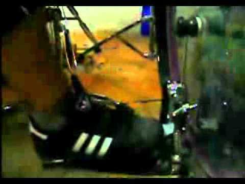 Gretsch BlackHawk Bass Drum Pedal Heel Toe
