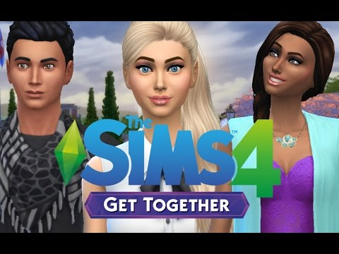 Let's Play: The Sims 4 | Get Together | Part 24 Date With J