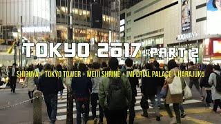 Tokyo 2017 Part 2   Shibuya + Harajuku + Tokyo Day Tour   JAPAN TRAVEL DIARY #2