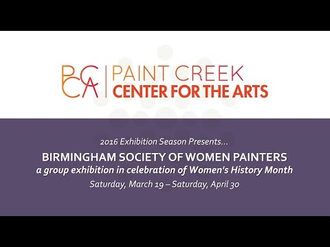 PCCA Exhibition 2016 : Birmingham Society of Women Painters