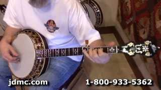 Huber Granada 5 String Banjo (VRB-G) Demo With Robby Boone at JDMC