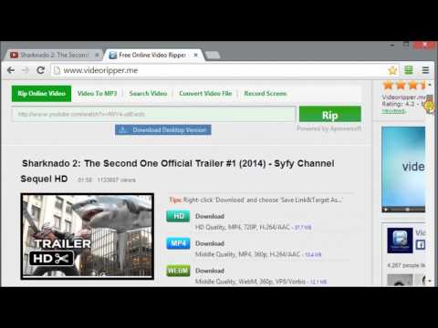 How to download videos from YouTuBe in MP4
