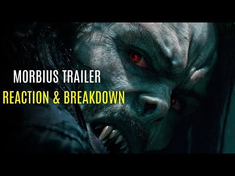MORBIUS Trailer Reaction & Review