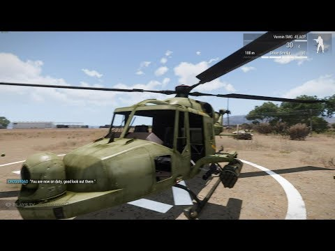 ARMA 3: My Helicopter Flying Set-Up (T.Flight Hotas X)