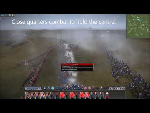 Napoleon Total War - Mass Zulu Charge & Volley Fire