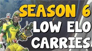 GOD TIER Heroes For LOW ELO Competitive S6 | Overwatch Season 6 Climbing Tips - OP HEROES SEASON 6