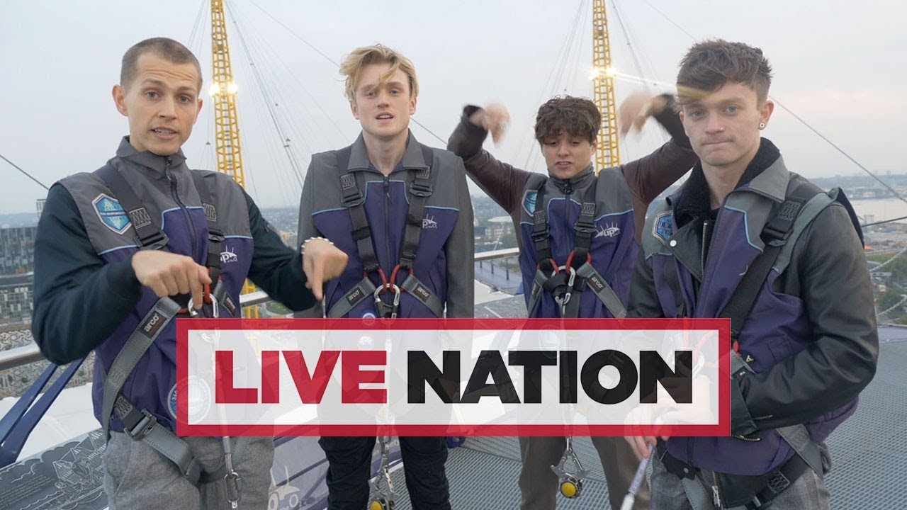 Behind The Scenes On The Vamps Big Day Out In London Live Nation