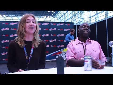 Heidi Gardner and Gary Anthony Williams