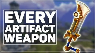 All 170 WoW Legion Artifact Weapon (Skins & Color Variants!)