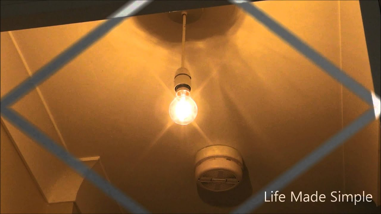 Fitting a ceiling light shade in the uk really simple job youtube mozeypictures Gallery