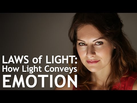 Laws of Light: How Light Conveys Emotion