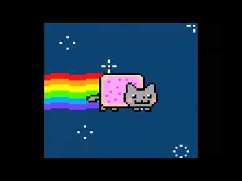 Scary Pop Up Nyan Cat