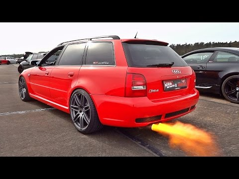 Best of Audi Sounds RS2 RS3 RS4 RS5 RS6 TT RS R8