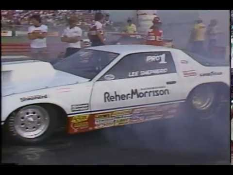 Drag Racing 1983 NHRA US Nationals PRO STOCK Semi Final Round Eliminations