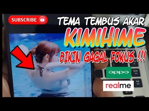Kimihime Ulala Theme Oppo dan Realme