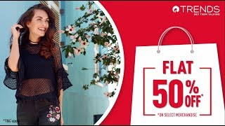 Trends Flat 50% Off Sale