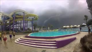Tornado in Malta 08-08-2015 / Splash & Fun Water Park [Fulll HD]