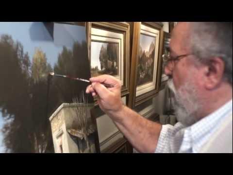 Galería de arte Marier presenta a Jorge Frasca pintando frente al público