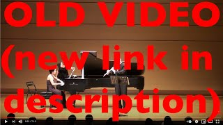 S. Prokofiev: Flute Sonata, op. 94. III. Andante
