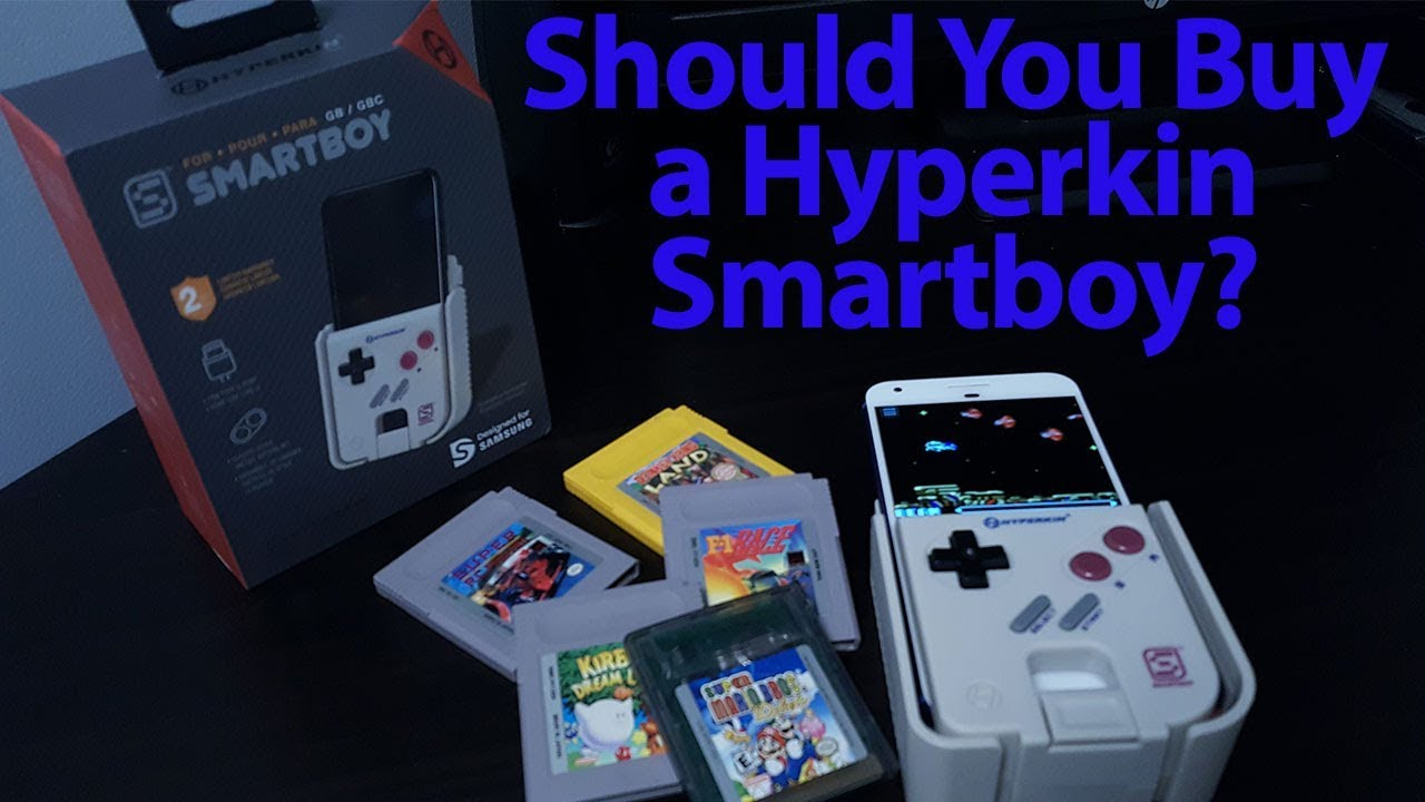 Should You Buy A Hyperkin Smartboy Game Boy Game Boy Color Game - Hyperkin smartphone gameboy