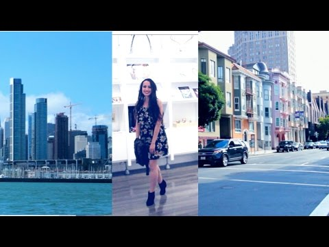SAN FRANCISCO ♥  Art Show, boat rides, exploring ♥  Lena's Art Diary