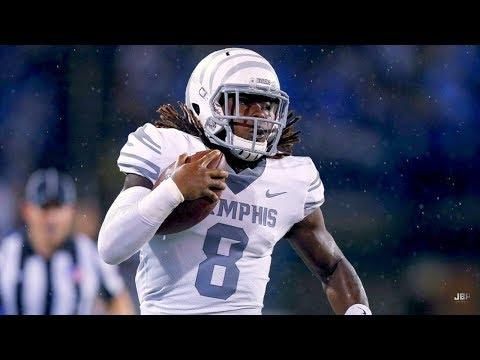 Biggest Home Run Threat in College Football 🔥|| Memphis RB Darrell Henderson Career Highlights ᴴᴰ
