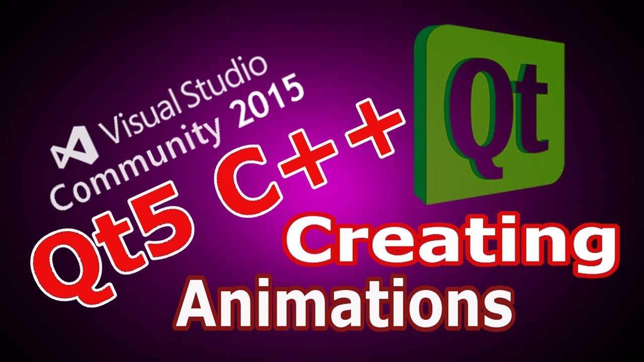 How to Create Animation in Qt5 with QPropertyAnimation