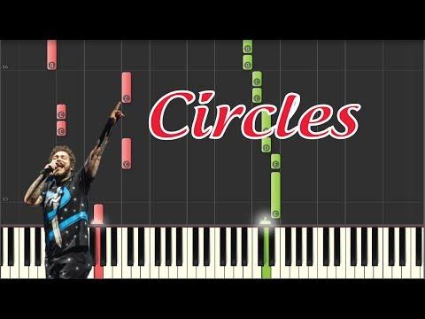 Circles - Post Malone - Piano Tutorial + Sheet Music thumbnail