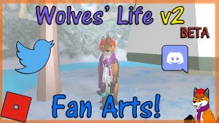 ROBLOX - Wolves' Life Beta v2 - Fan Arts! #28 - HD