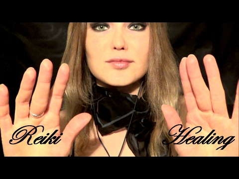 ASMR REIKI healing, removing bad energy, transforming hand movements, hypnotic self improvement