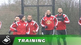 Swans Tv - Training Ahead Of Hull.