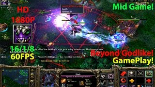 ★DoTa Slark - GamePlay 6.83★!KDA: 16/1/8!★Beyond Godlike, Solo mid!!!★