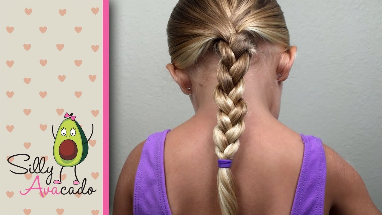 dad hair tip #2 - how to braid - easy daddy hairstyle - cute girl hairstyles! back to school!