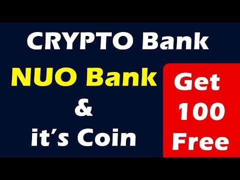 Crypto Bank - NUO Bank & NUO Coin