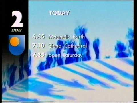 Andy Cartledge opens up BBC2 on Saturday 8th March 1997