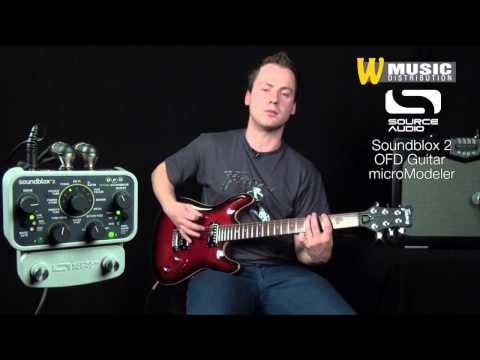 Source Audio - Soundblox 2 OFD Guitar microModeler