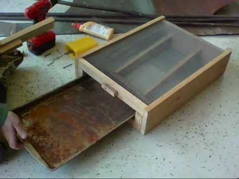 How I Build My Small Hive Beetle Trap/Bottom Board