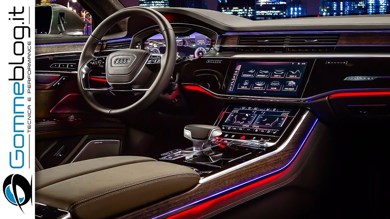 2019 Audi A8 Interior Tech Features