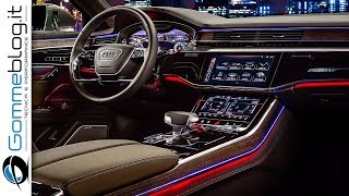 2019 Audi A8 INTERIOR - TECH FEATURES
