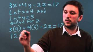 How to Substitute Known or Given Values for the Variables in an Algebraic Expression
