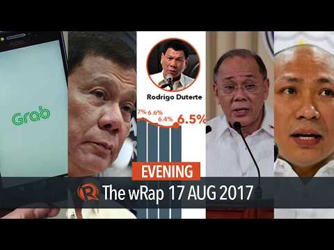 Uber and LTFRB, Human Rights Watch, Alejano | Evening wRap
