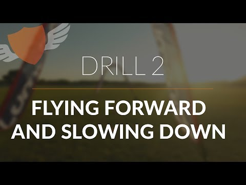 How-to Fly FPV Quadcopter/Drone // Beginner: Drill 2 // Flying Forward and Slowing Down